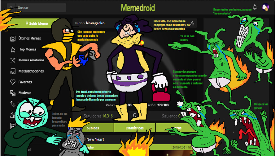 Memedroid in a nutshell By:Cosmic_Derp