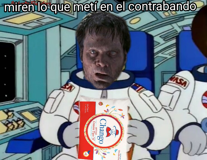 Contrabando - meme