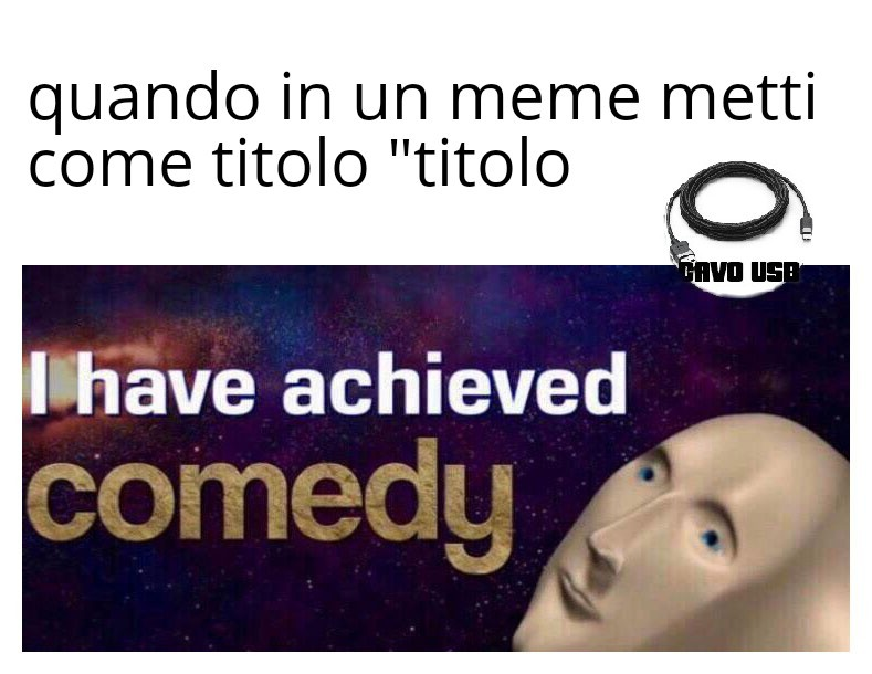 """titolo"" - meme"