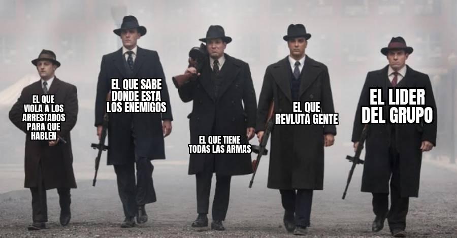 La mafia - meme