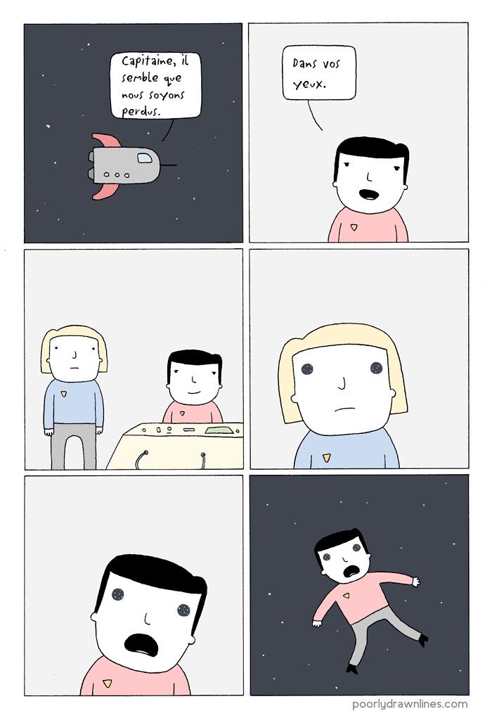 L'univers de tes yeux - meme