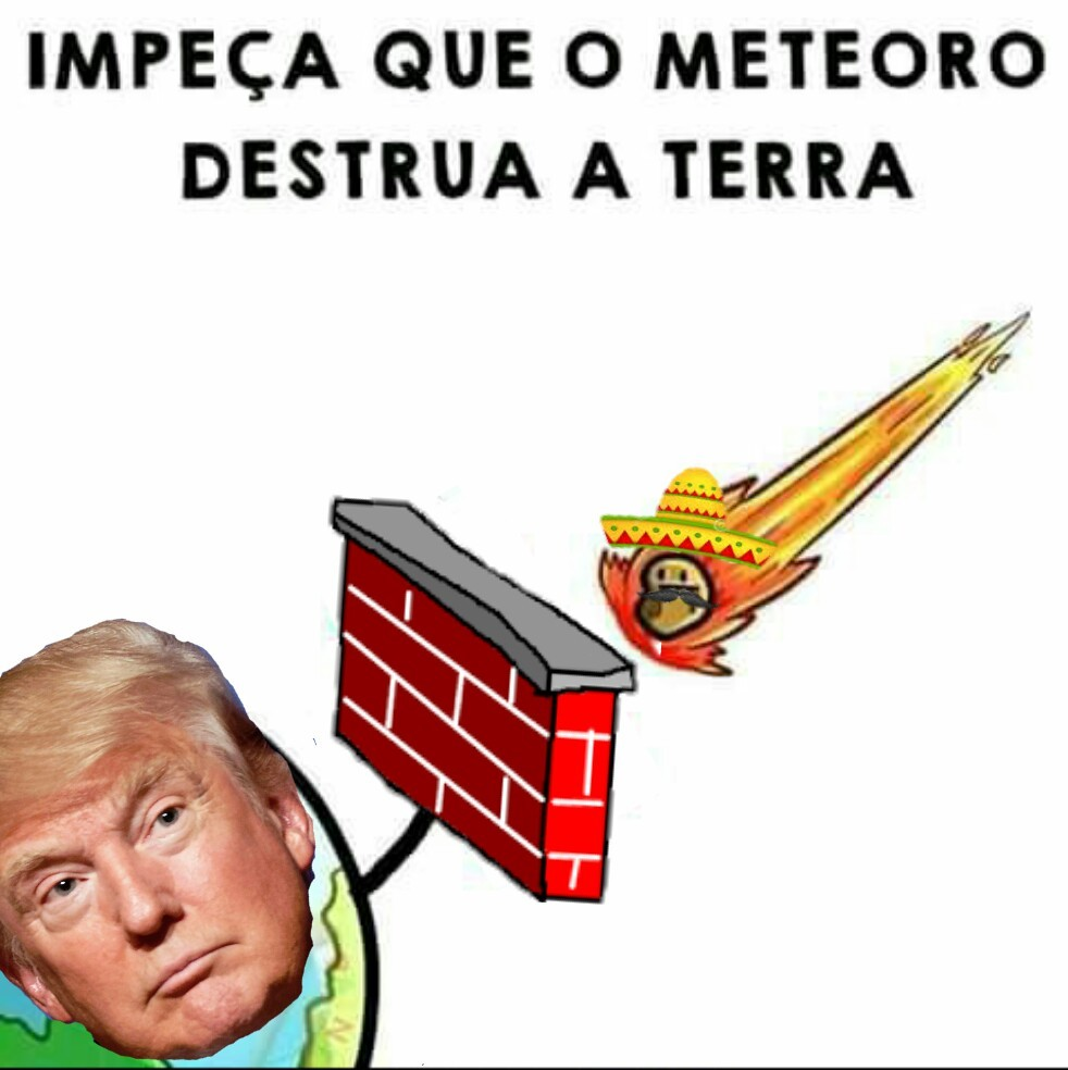 Também funciona pra meteoros mulçumanos - meme