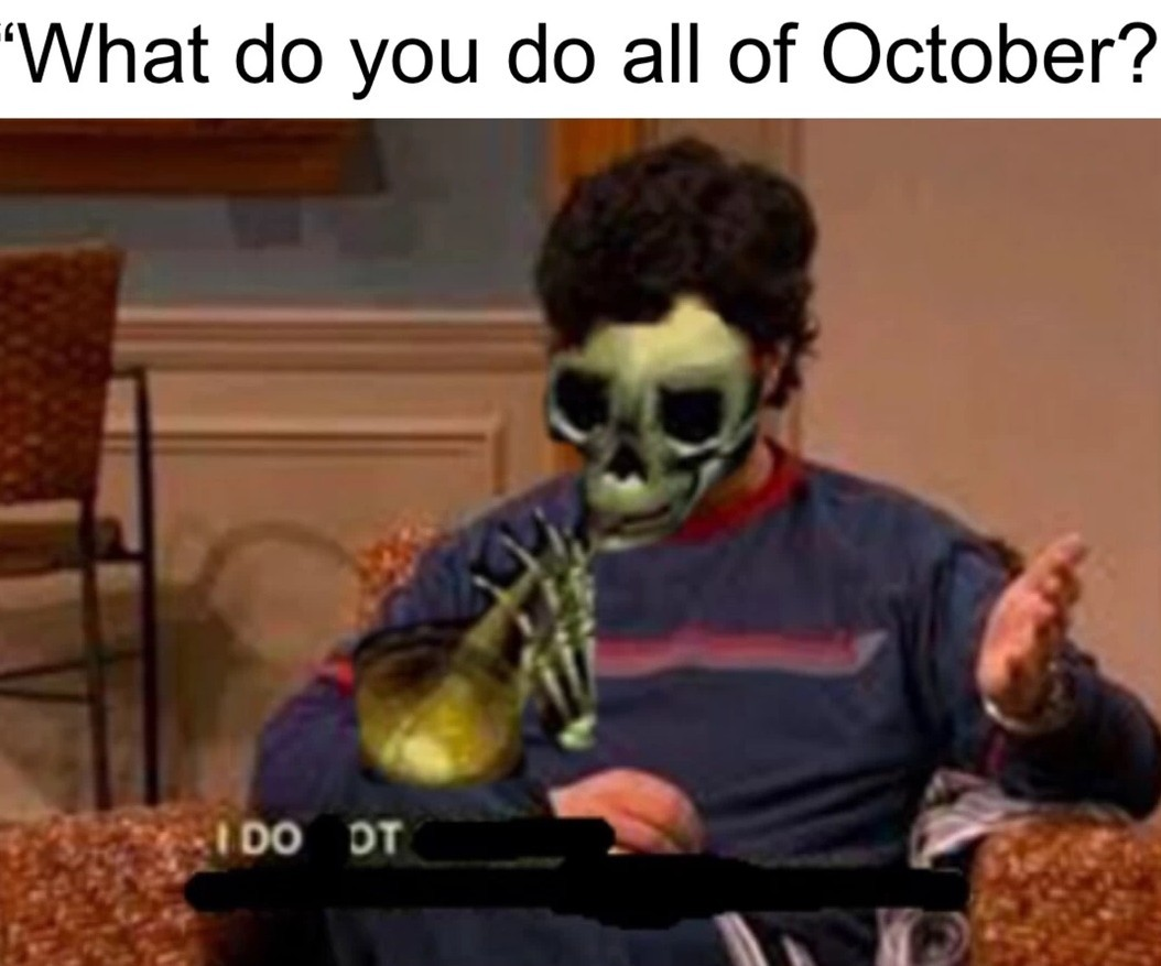 Who will win, the birds? The snakes? The true skeletals? Find out next week on, doot doot z - meme