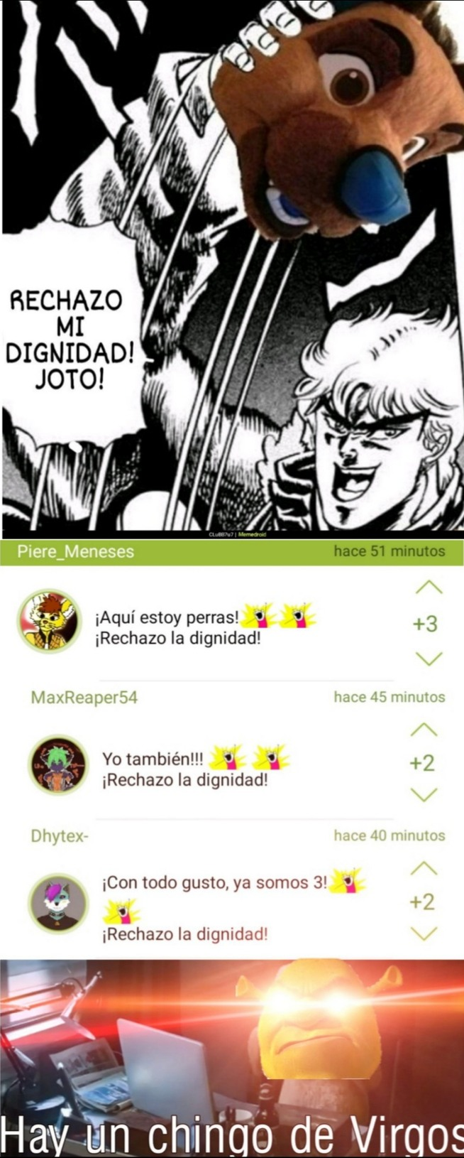 El Za Brando Furro y sus cancer en los comentarios - meme