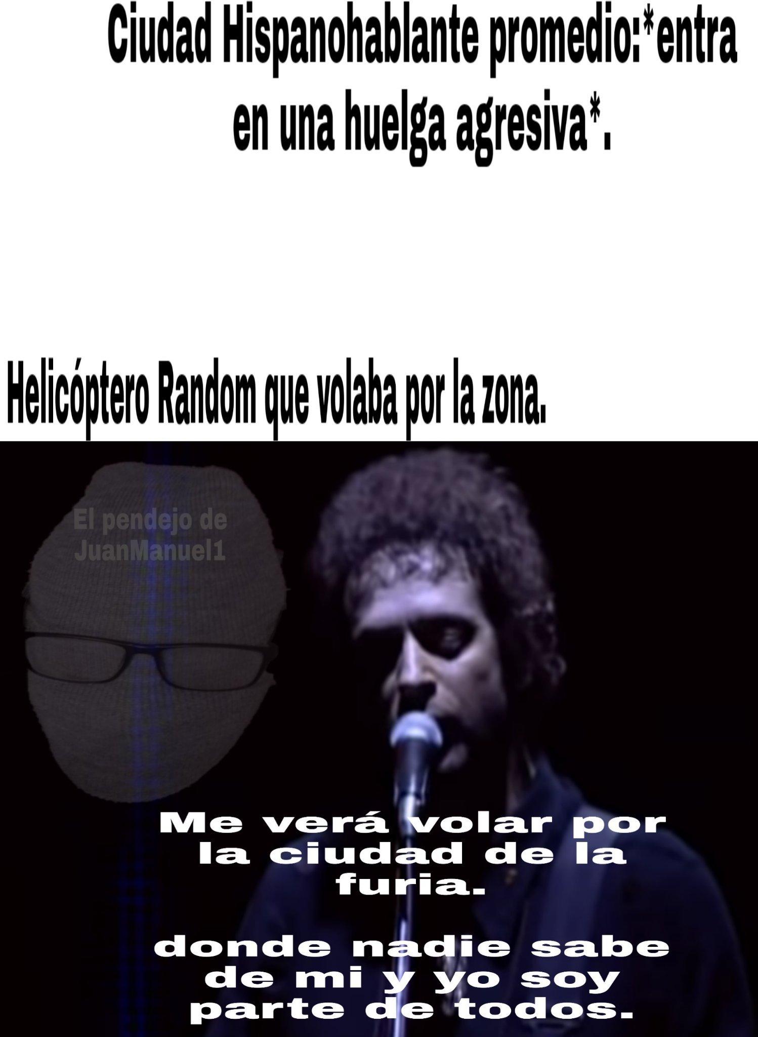 Ciudad de la furia - meme