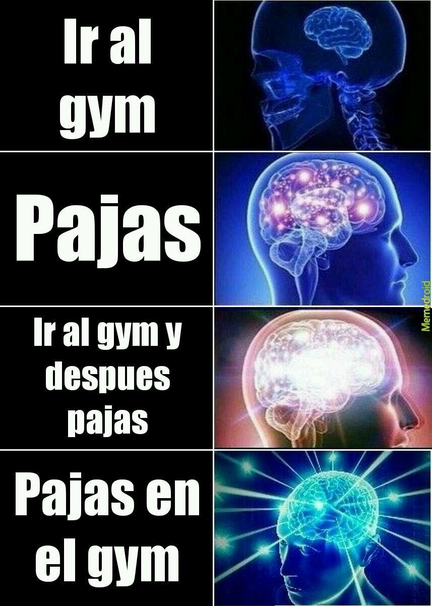 Para desarrollar musculos: - meme