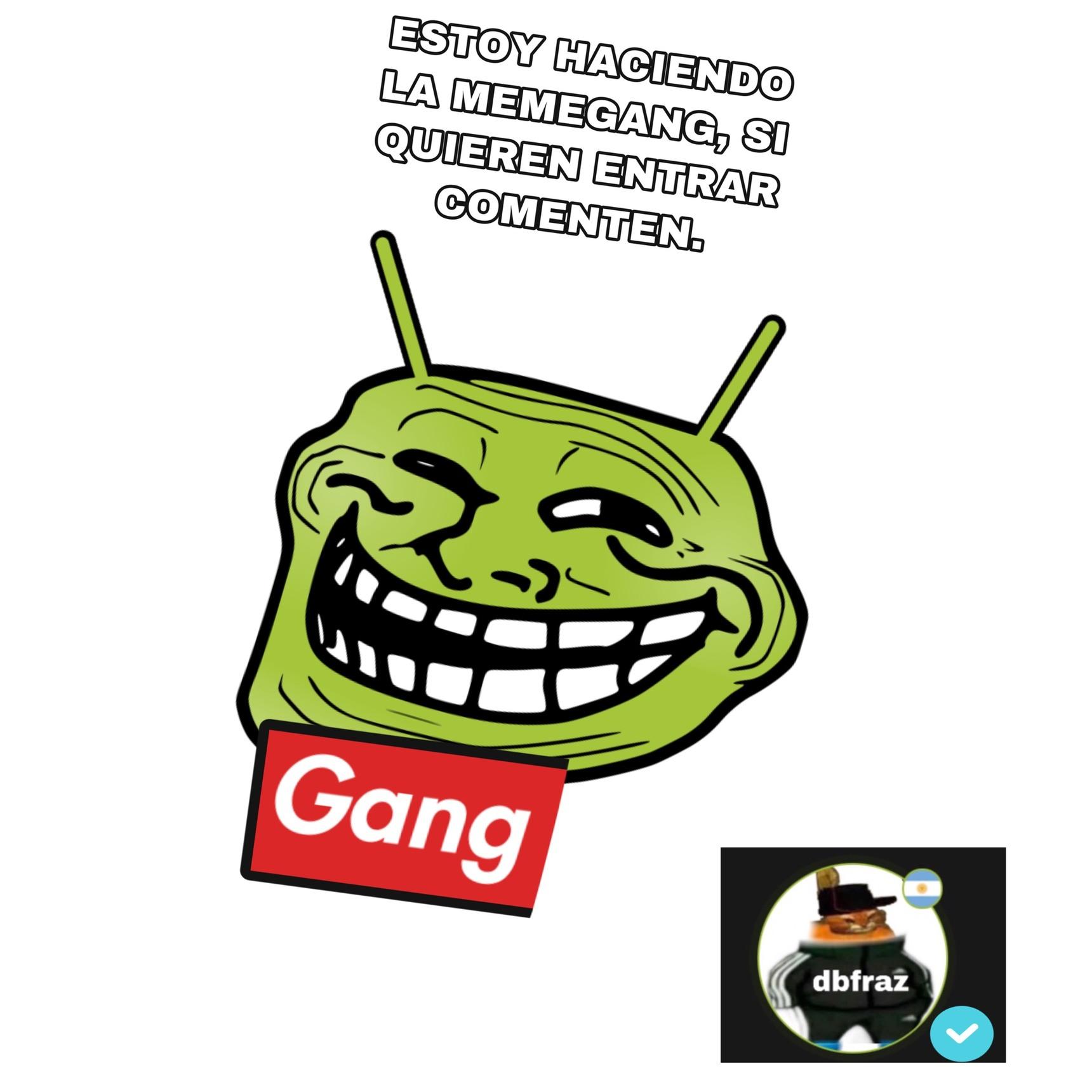 alta verga la gang pero nimodo - meme