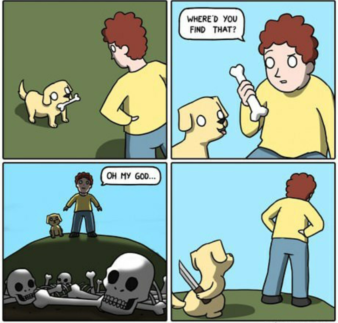 Bad doggie - meme