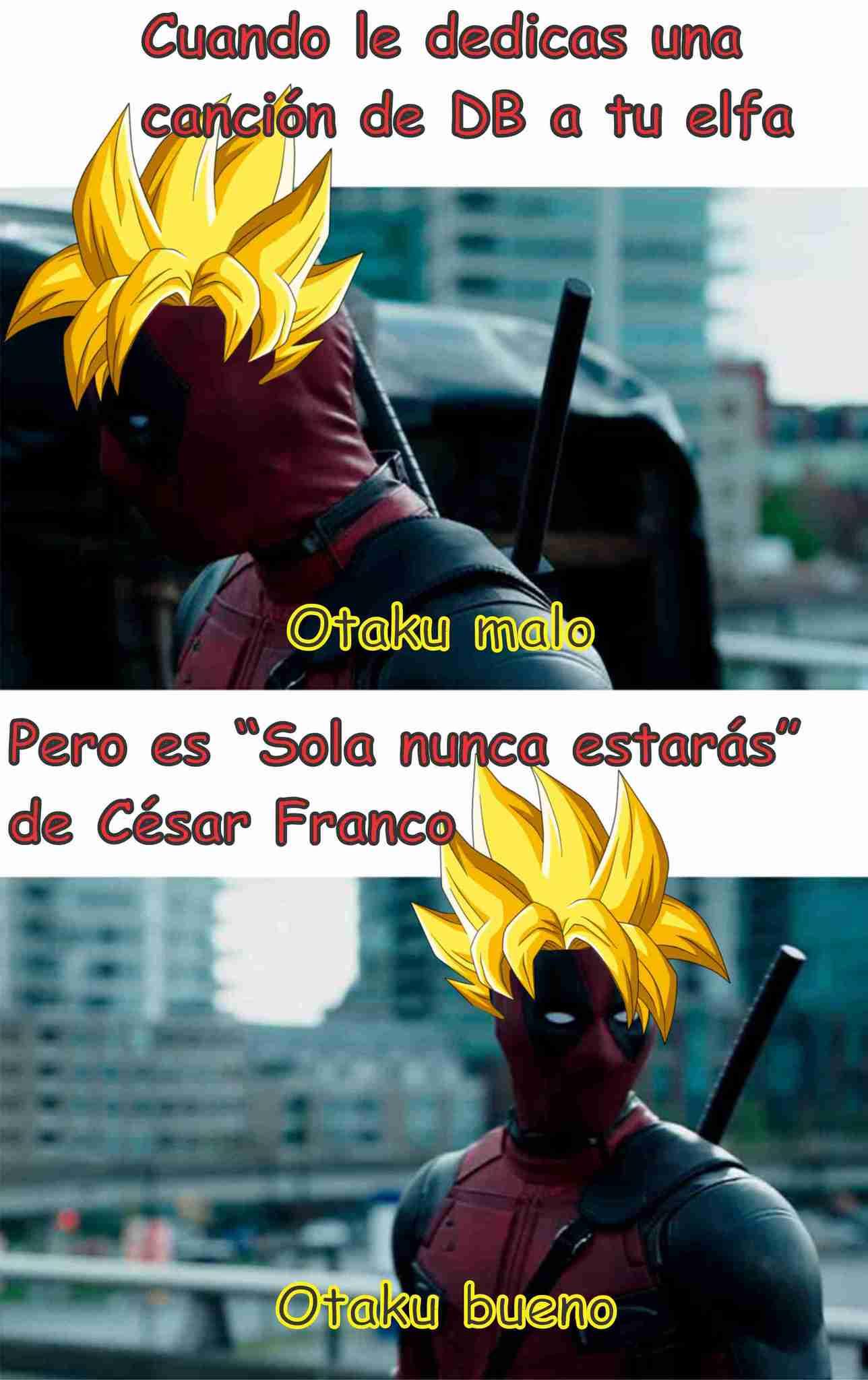 El título es otaku - meme