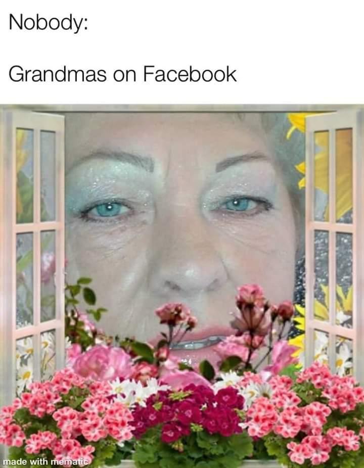 Its a me grandma! - meme