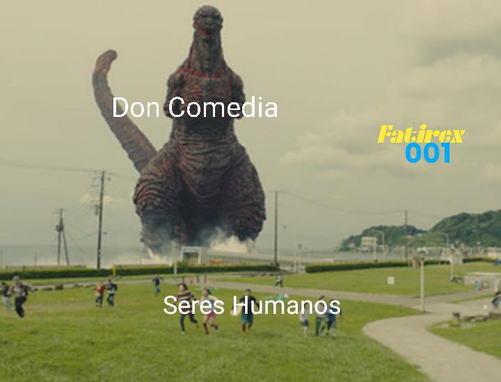 Cuidado viene don comedia - meme
