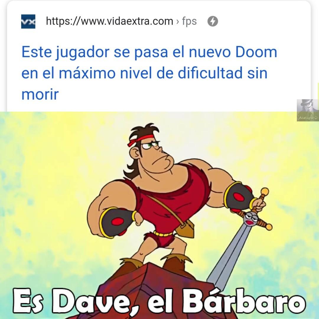 Doom eternal* es que la noticia es algo vieja - meme