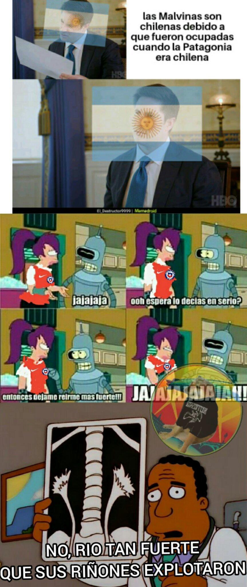 Chileno deja de mentir - meme