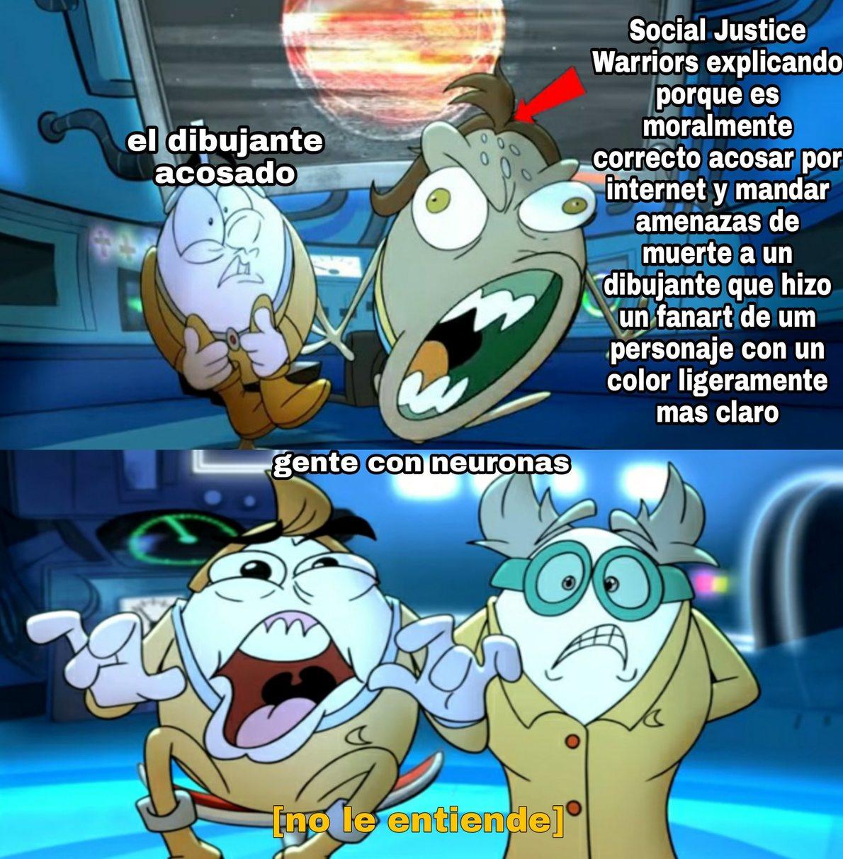 Fandom gringo de steven universe be like (la flecha la puse por si acaso) - meme