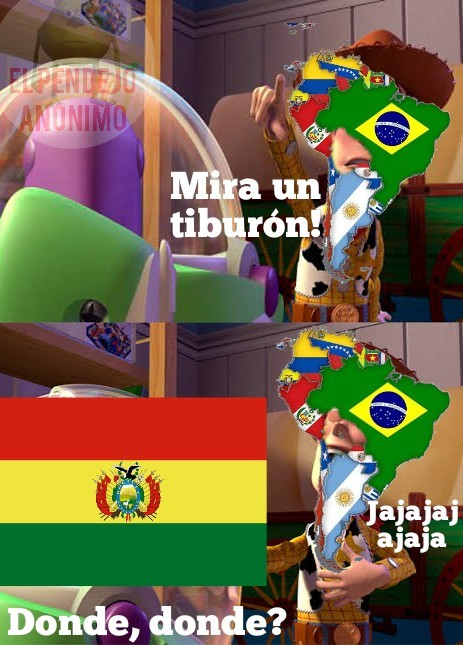 Así es pibes mi país es gud y el tuyo bad - meme