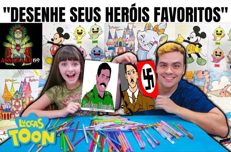 Qual é o herói preferido de vocês? - meme
