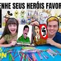Qual é o herói preferido de vocês?