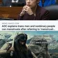 Gimli can't take it anymore