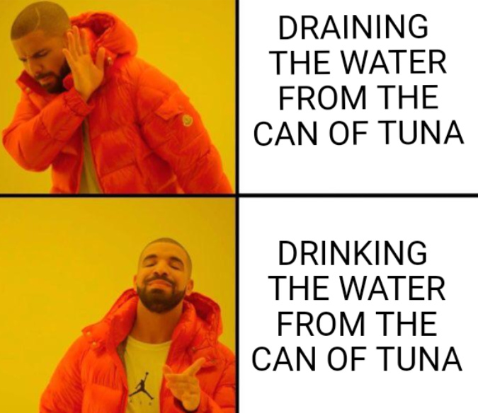 Tuna Juice - meme