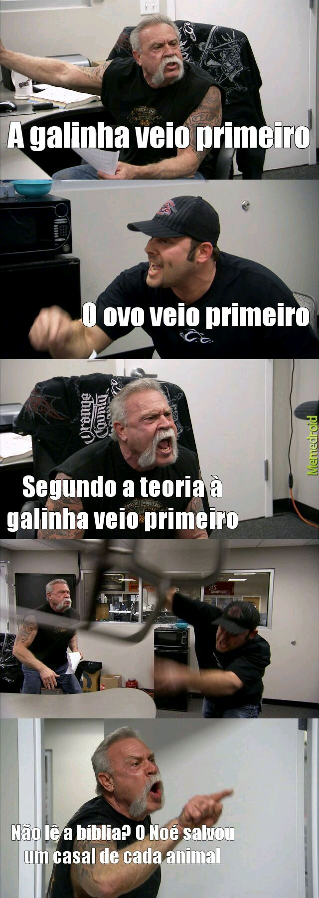 Teimoso - meme