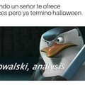 Kowalski analysis