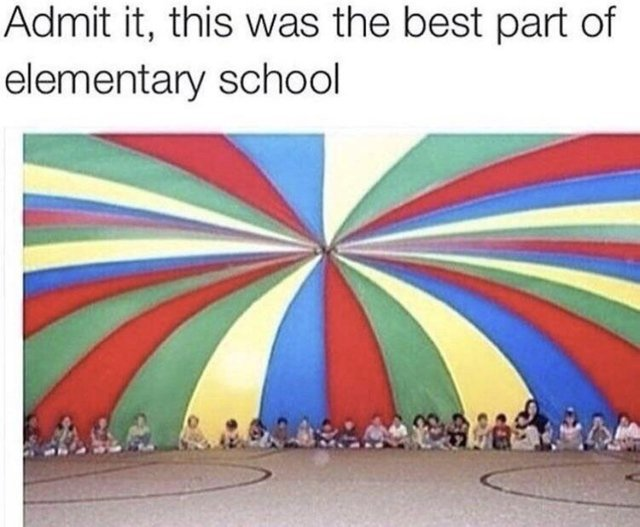 The best part of elementary school - meme