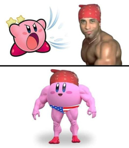 Kirby Milos - meme
