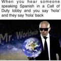 I'm international