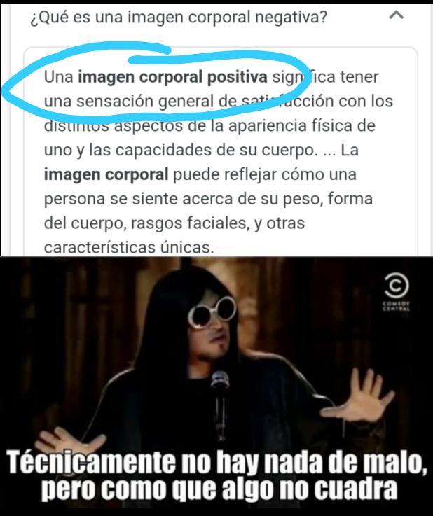 Imagen Corporal - meme