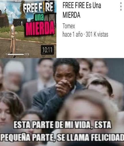 Free fire malo carpincho bueno - meme