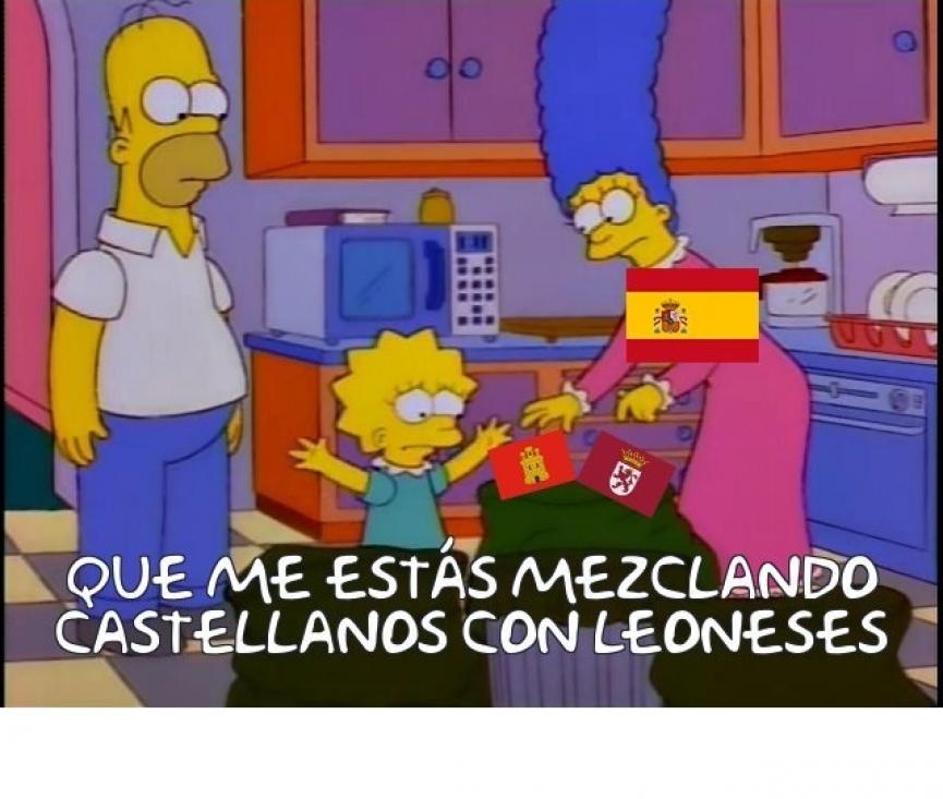 España la realidad - meme