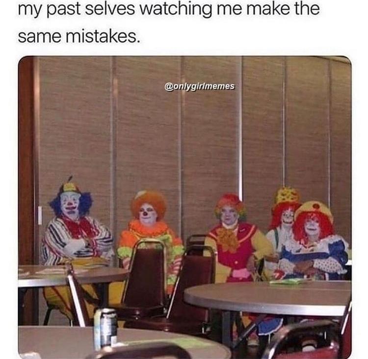 clown squad - meme