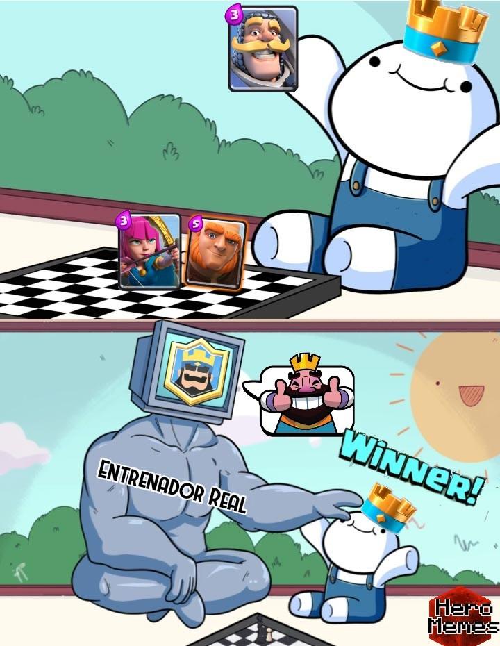 La primera partida de muchas - meme