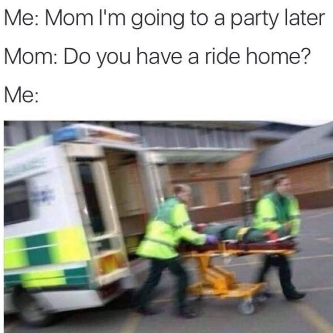 home fucking Going ambulance a in