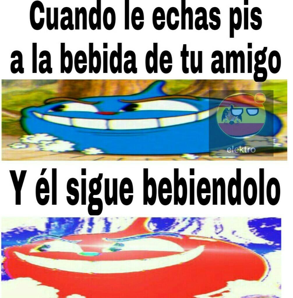 Re100 horneado (huele a historia) - meme