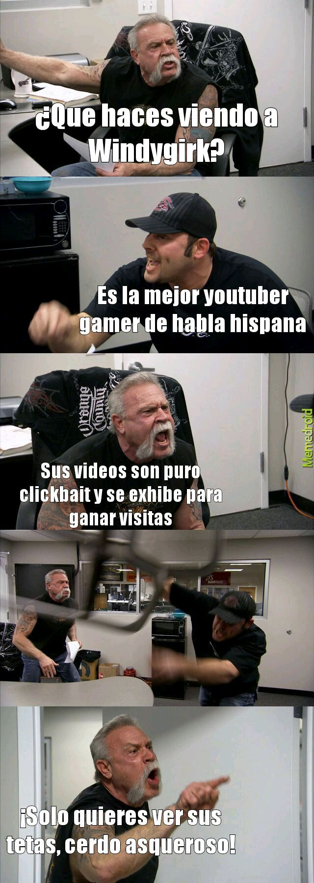 Chile no fue al mundial - meme
