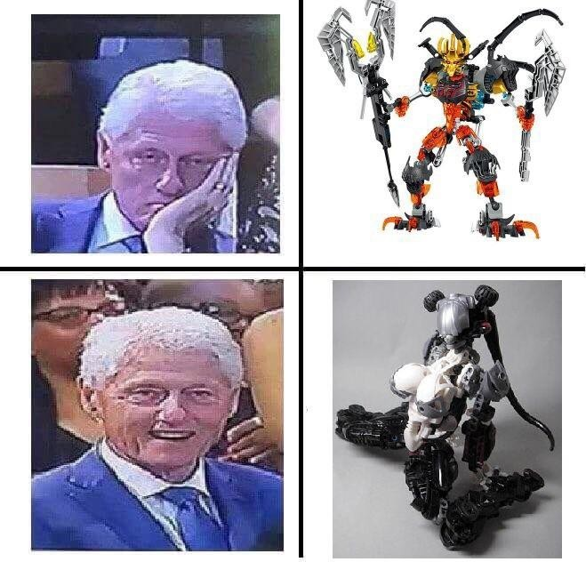 Bionicle is best waifu - meme