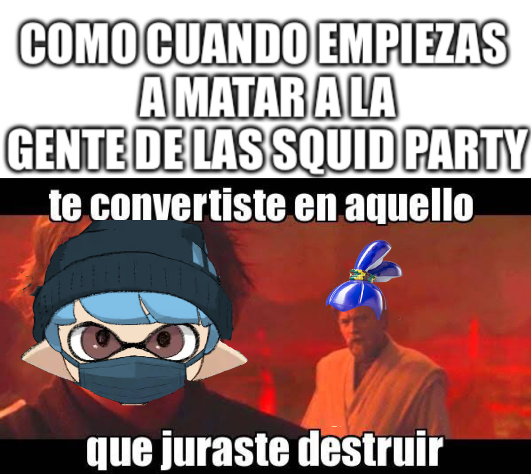 Squid party - meme