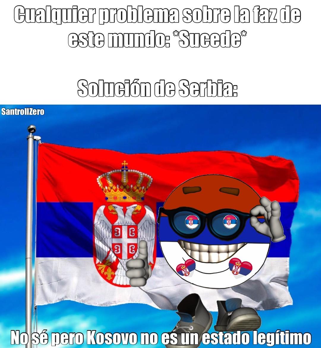 Kosovo no existe - meme