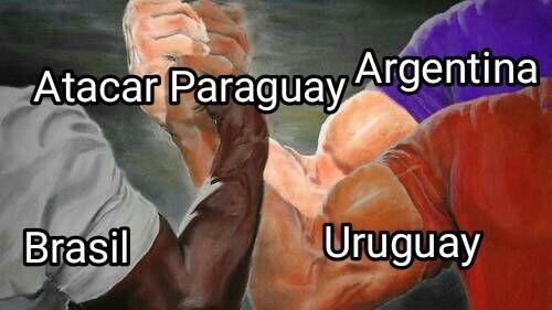 Triple Alianza - meme