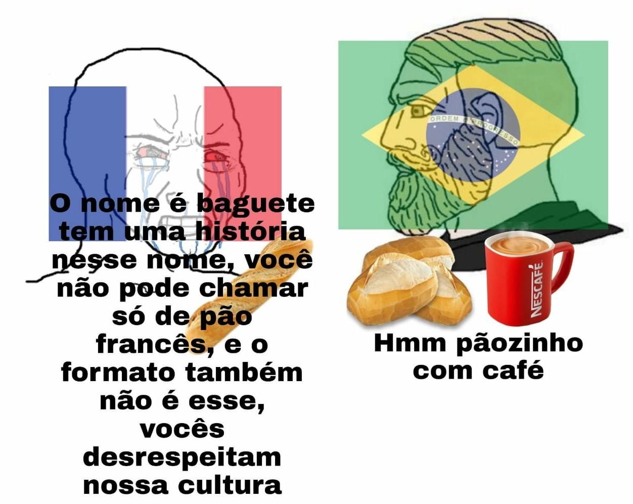 Paozin com cafe hmmmm - meme