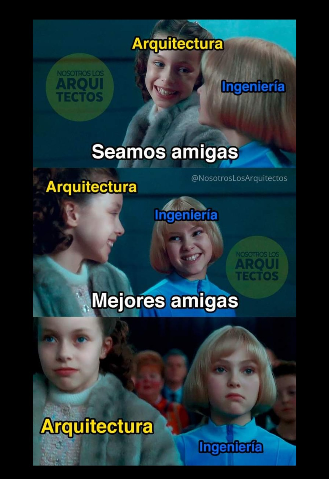 De inges no. 2 y de Arquis no. 3999 - meme