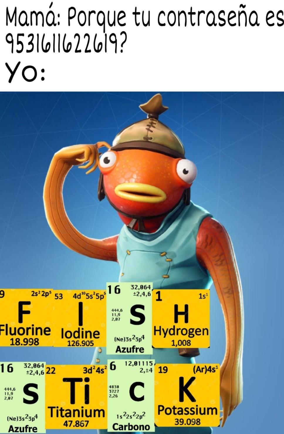 FISH STiCK :o - meme
