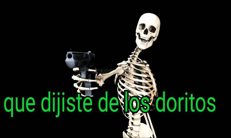 Esqueleto Troll - meme