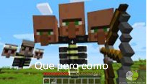 macraf (asi dice minecraft mi mama :trollface:) - meme