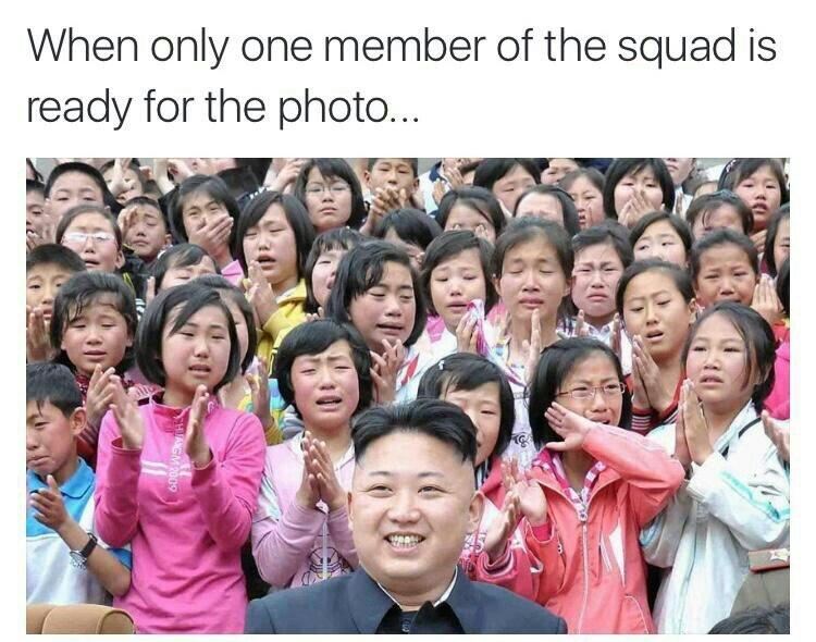 Anyone can be president in Korea - meme