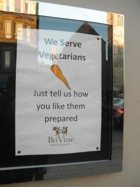 Vegetarians - meme