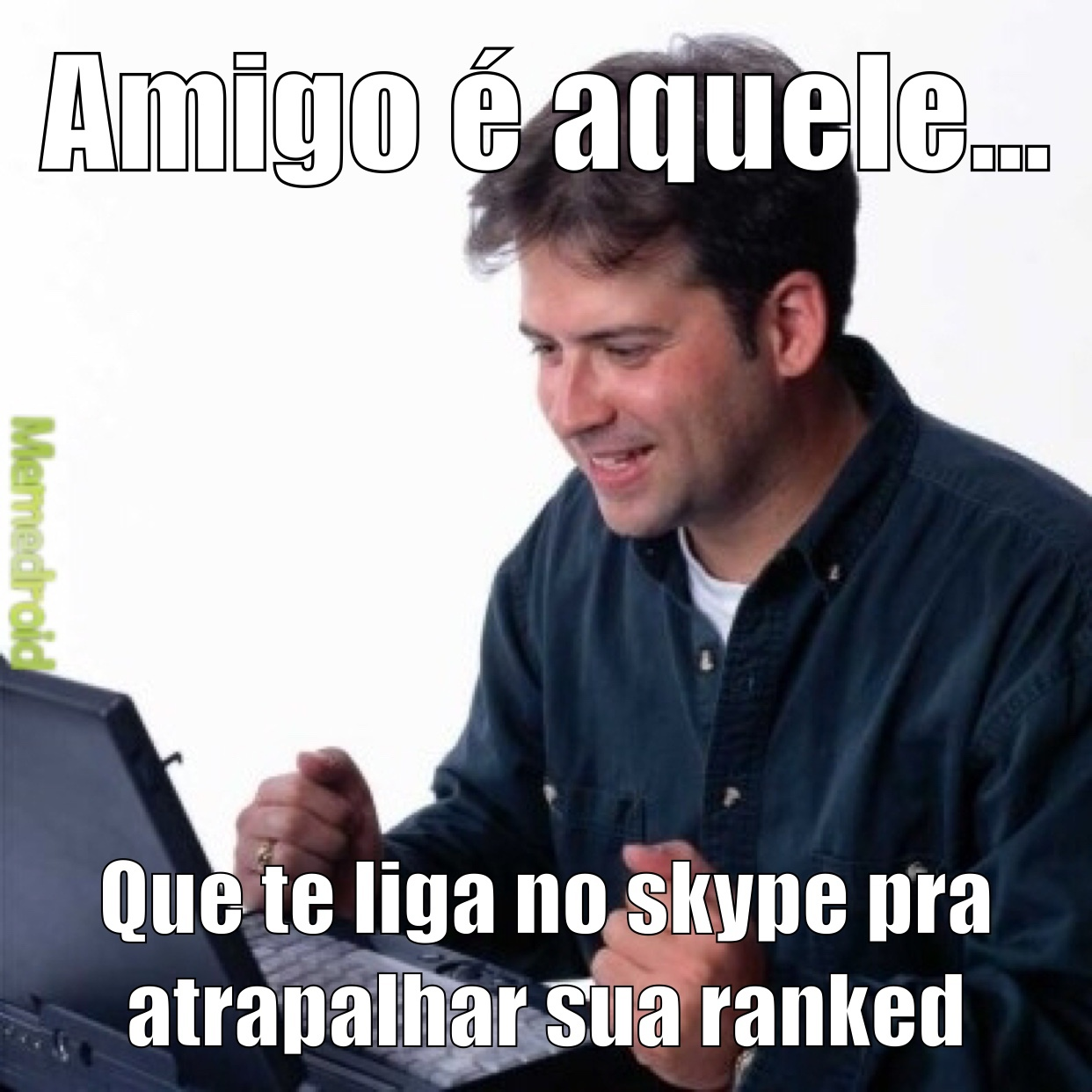feels skype men - meme