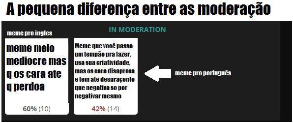 kkk eae moderação, leva a mal n pfavo - meme