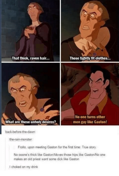 5a6796ab0dd24 title has the hots for gaston meme by weirdal ) memedroid